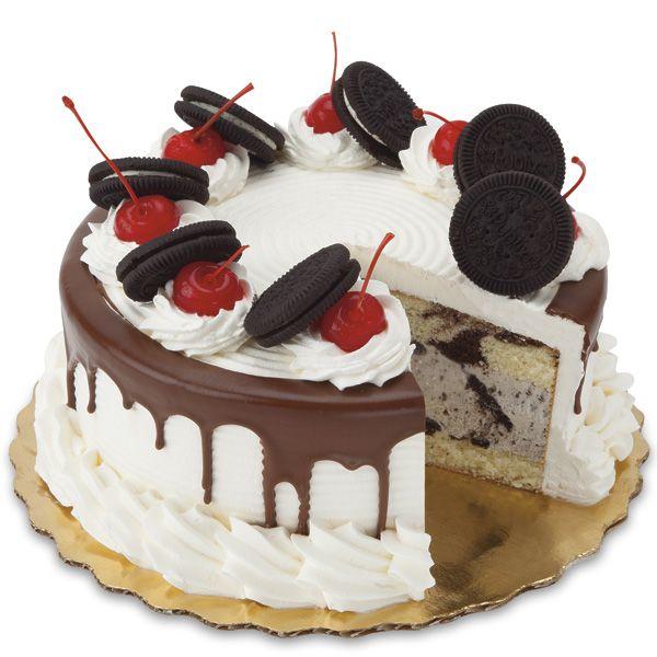 8-In. Premium Cookies & Cream Ice Cream Cake