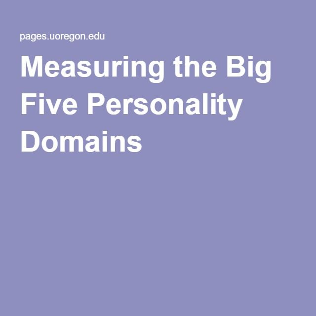 openness in personality Mainly openness: the relationship between the big five personality traits and learning approaches tomas chamorro-premuzica,⁎, adrian furnhamb.