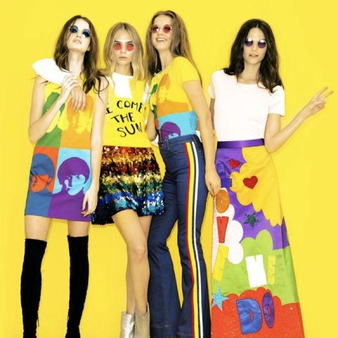 The Beatles by Alice and Olivia on Collaboration Generation – the latest and best in brand innovation
