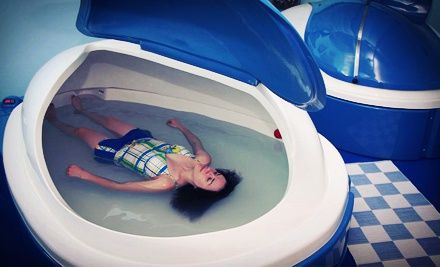 Groupon - One or Three Float Sessions in a Floatation Therapy Tank at Float Houston (Up to 52% Off). Groupon deal price: $49.00