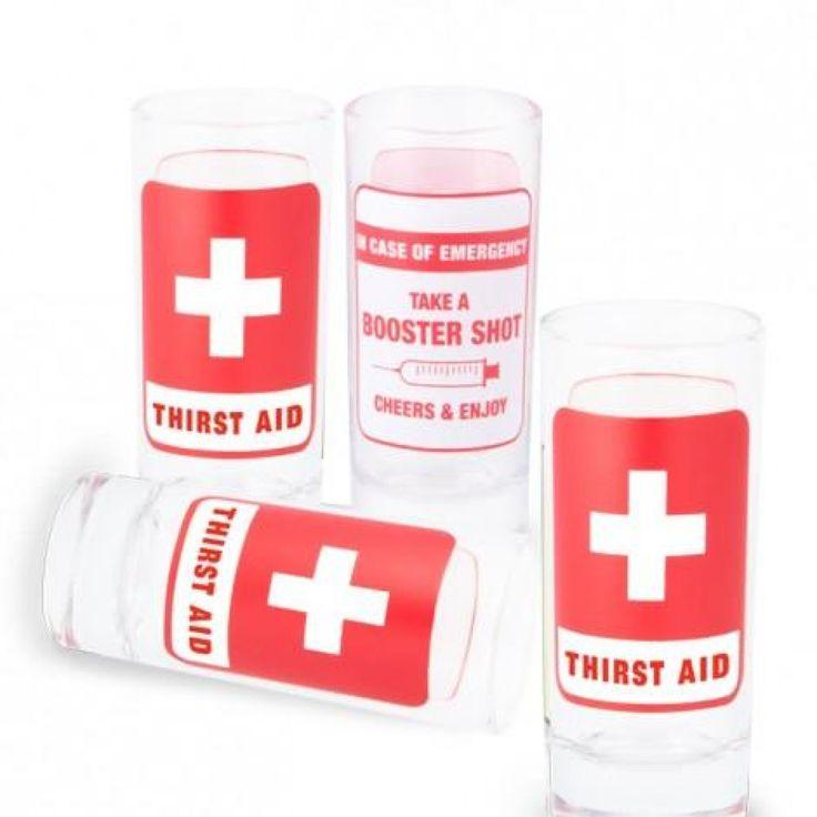 En cas d'urgence sauvez la fête avec quelques shooter de vos liqueurs préférées .Ensemble de 4 verres
