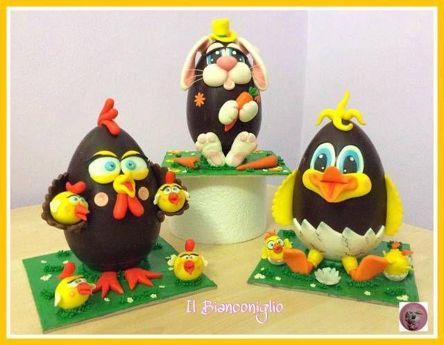Sweet Easter eggs - Cake by Carla Poggianti Il Bianconiglio - CakesDecor