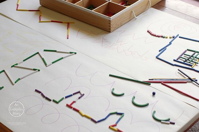 Prewriting Activities with Loose Parts - An Everyday Story