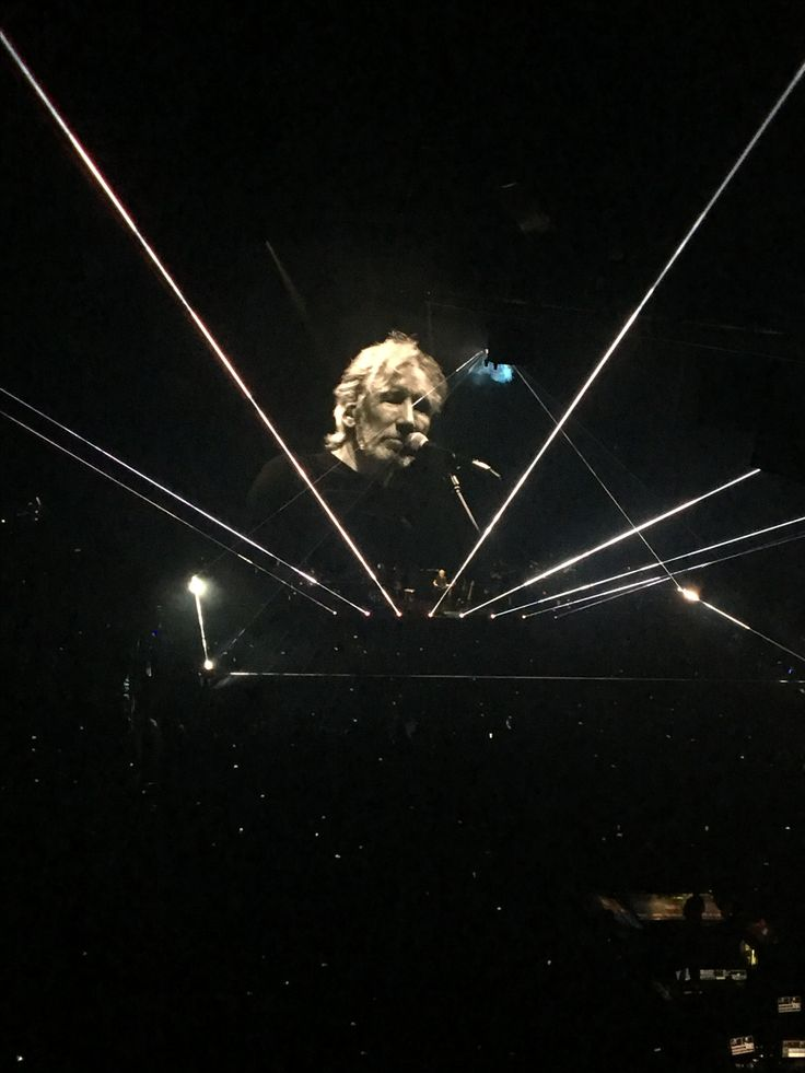 Roger waters @ the palace of auburn hills tonight ... 73 years old and still rockin 🤘🏻🤗 awesome