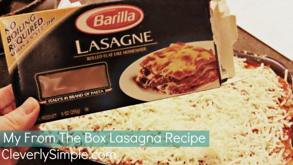 Homemade Easy Meat Lasagna Recipe with No Boil Noodles