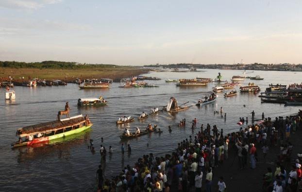 Il Rio delle Amazzoni, che attraversa Perú, Colombia e Brasile. (Enrique Castro-Mendivil, Reuters/Contrasto)