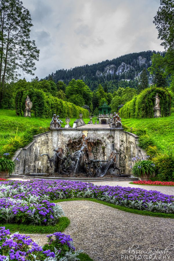 Linderhof - Munich, Germany. I've been here. It is truly beautiful. Conrad…