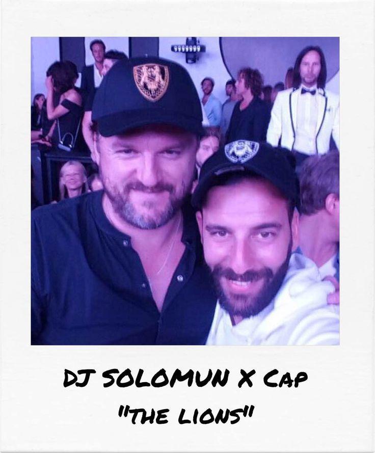 "DJ Solomun VS Richard Valentine's new cap ""The Lions"" during the Cannes Film Festival"