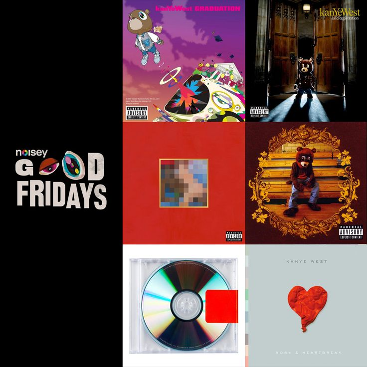 Kanye Album Rankings