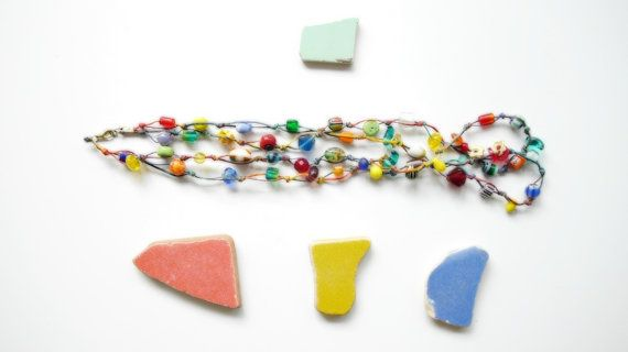 Rainbow Maker // Colorful Wrap Necklace by Karakoncolos on Etsy, $15.00 15% OFF VALENTINE'S DAY DISCOUNT in purchases over 7.5$ coupon code: LOVEDONES