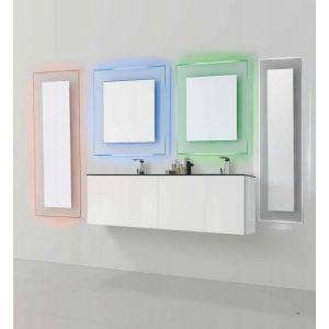 Specchio e specchiera bagno retroilluminato LED 16 differenti colorazioni Boreale - Vanit� & Casa