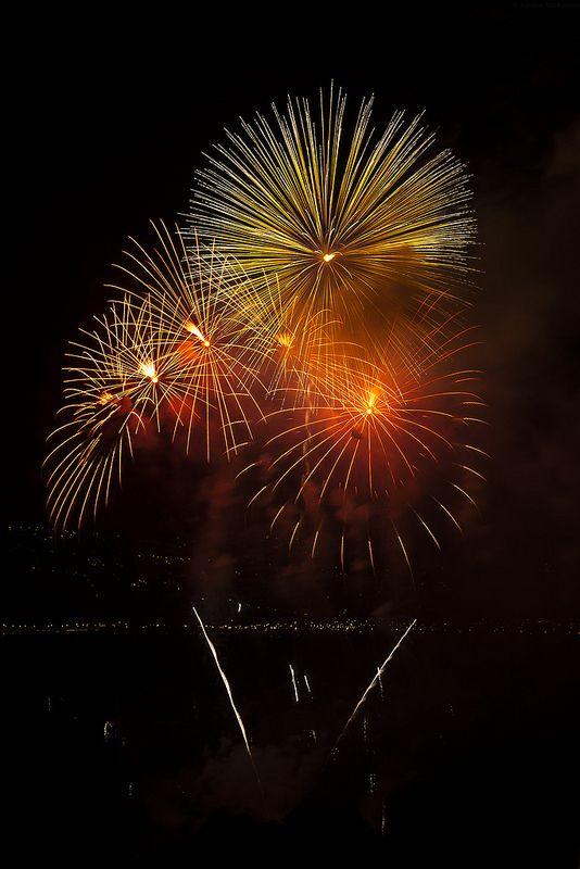 Fireworks Display 2014, Wellington Harbour