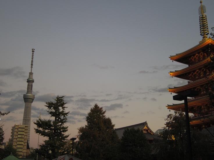 Gojunotho & Sky Tree Tower