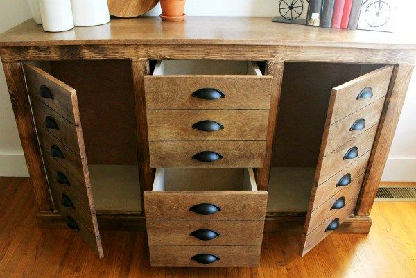 Diy Modern Farmhouse Faux Drawer Dresser Modern Farmhouse Diy Diy Furniture Easy Modern Diy