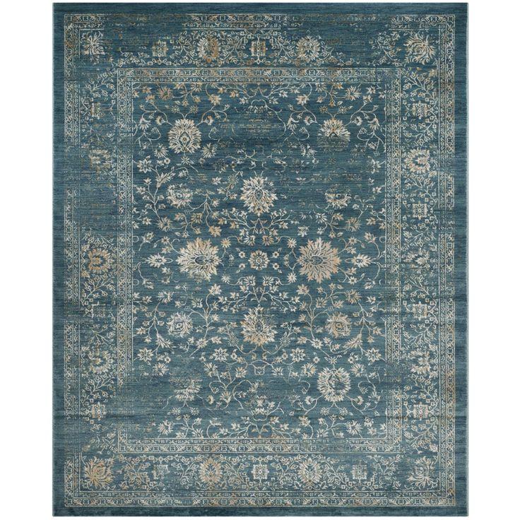 Safavieh Evoke Light Blue/ Beige Rug (10' x 14') , Size 10' x 14' (Polypropylene, Oriental)