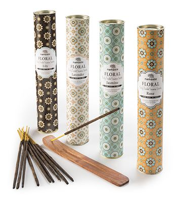 Floral fragrances, 30 incense sticks in tube