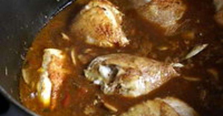 """Poulet chasseur. Classiquement appelé """"poulet sauté chasseur"""".. La recette par Chef Simon."""