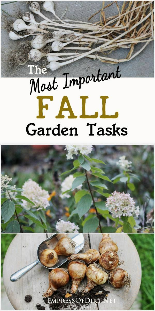 The most important fall garden tasks and what should wait gardens - Fall gardening tasks ...