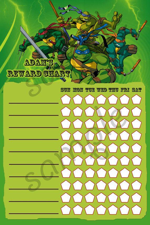 printable teenage mutant ninja turtles tmnt theme by