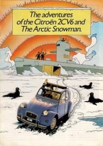 2CV Tintin