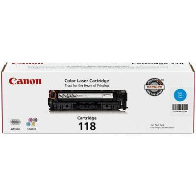 Canon CRG-118 Cyan Toner Cartridge #2661B001AA #Canon #TAATonerCartridges  https://www.techcrave.com/canon-2661b001aa.html