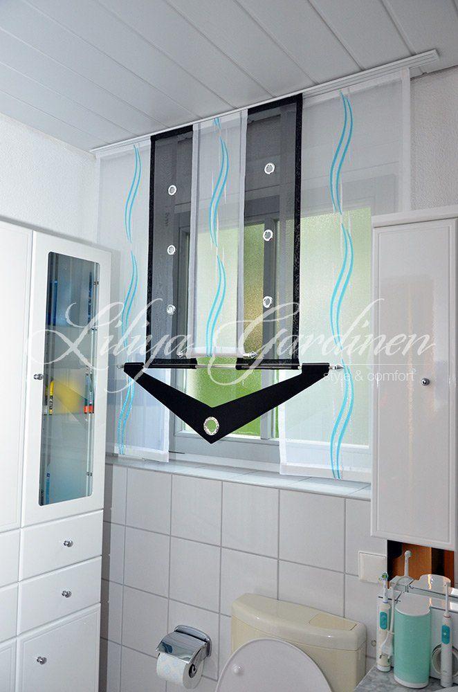 Badezimmer Gardinen nach Ma bestellen Wir nhen Gardinen frs Bad nach Ma Modernes Gardinen