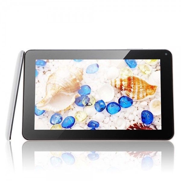 "Final Chance!! 9"" Capacitive Dual-Core Android 4.2 1GB / 8GB Tablet PC Camera HDMI Black & Whit"