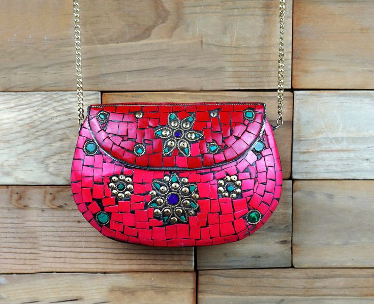 Beautiful clutch,Metal clutch,India inspired metal Kuchi clutch ,Formal purse,metal clutch,Formal clutch,Handbags,Afghan handmade by ZsTribalTreasures on Etsy