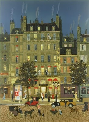 Grand Hotel by Michel Delacroix French Artist