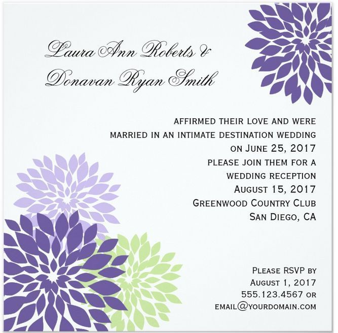 11 best After the wedding invites images on Pinterest | Home ...
