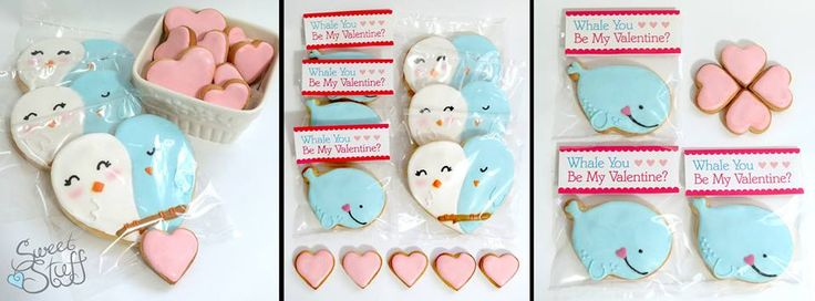 Love is Sweet  Valentines' days cookies for those who are in love , or fallin' in love #sweetstuff #valentinesday #lovebirds
