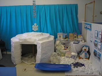 This site has a ton of ideas for your dramatic play centers