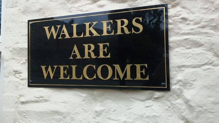 With so many stunning walks around our area, we welcome many walkers!