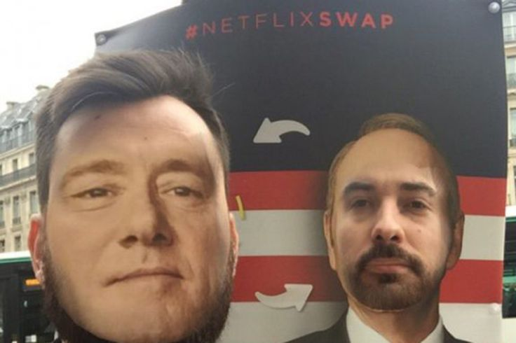 Netflix Invites You to Swap Faces With Kimmy Schmidt, Frank Underwood in 'Interactive' Outdoor Campaign - Print (Slideshow) - Creativity Online