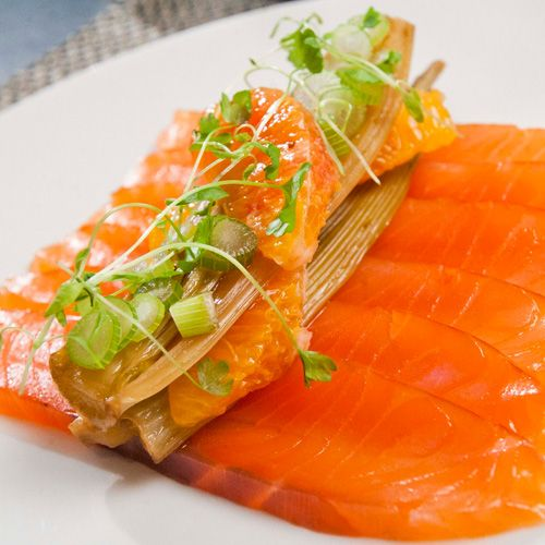 Loch Duart Whisky Smoked Salmon with Pink Grapefruit and Fennel Salad | Recipe Finder | Greener Scotland