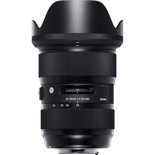 Sigma 24-35mm f/2 DG HSM Art Lens for Canon EF 588954 B&H Photo