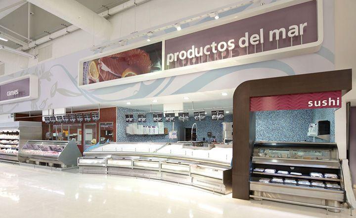 Supermarket Design | Hypermarket Design | Retail Design | Shop Interiors | Chedraui hypermarket by Little, Guadalajara City   Mexico store design