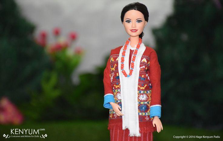Barbie in Monpa attire