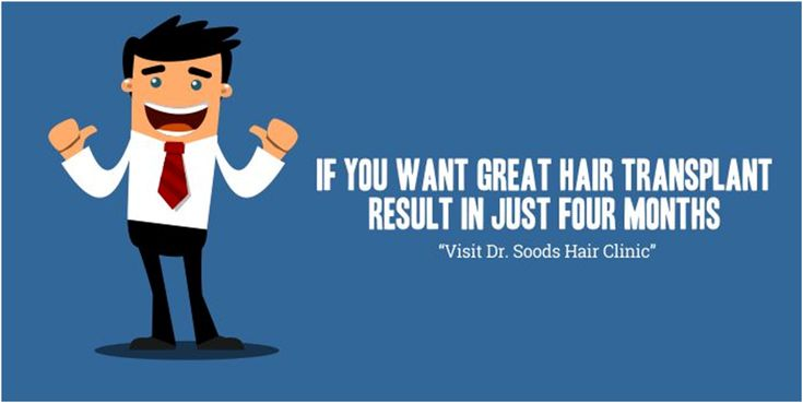 If you want Great Hair Transplant Results in just four months, Visit Dr. Soods Hair Clinic. #HairTransplant #HairClinic #Results #HairGrowth #Look #Doctor #Bald #DrSoodsClinic