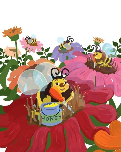 Bobbi the Bumble Bee doesn't like sharing his pollen. This creates a problem for the honeybees. Will Bobbi be able to repair the damage he has caused?