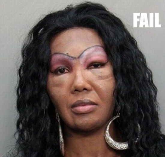 Worst-Makeup-Fails-Of-All-Time-003 | FunCage