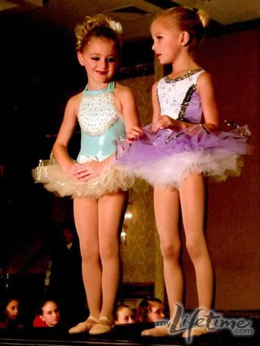 Cute photo of Chloe and Paige from #DanceMoms! #Friends when they were little they are sooooooo cute!