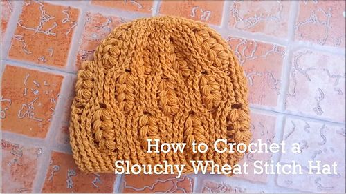 47 best Crochet Wheat Stitch images on Pinterest | Häkelmotiv ...