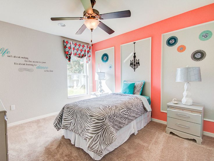Wall Decals Are A Fun And Easily Changed Way To Decorate A Trendy Tween  Bedroom.