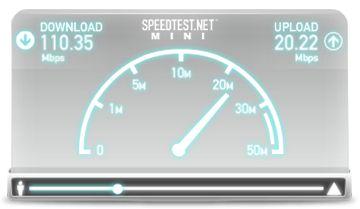 Speedtest.net Mini Screenshot
