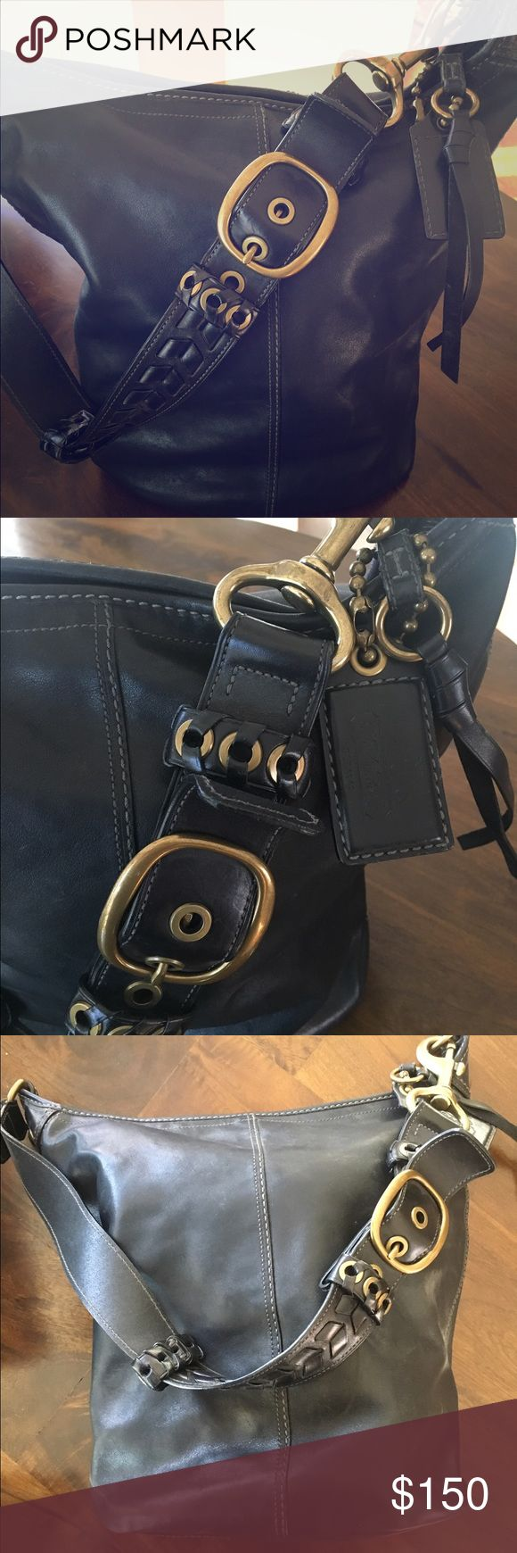 Coach Hobo Bag This Coach Hobo bag with be your favorite accessory! You can cary an incredible amount and still look fashionable. Coach Bags Hobos