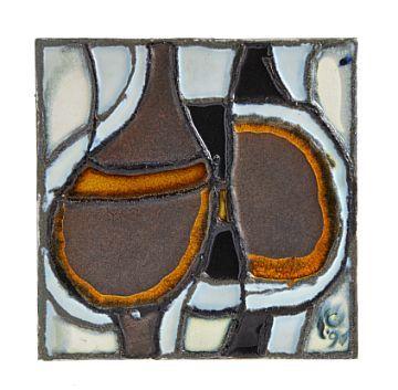 Konrad Galaaen, Veggrelieff / Keramisk kunst av Konrad Galaaen / Nettauksjon / Blomqvist - Blomqvist Kunsthandel