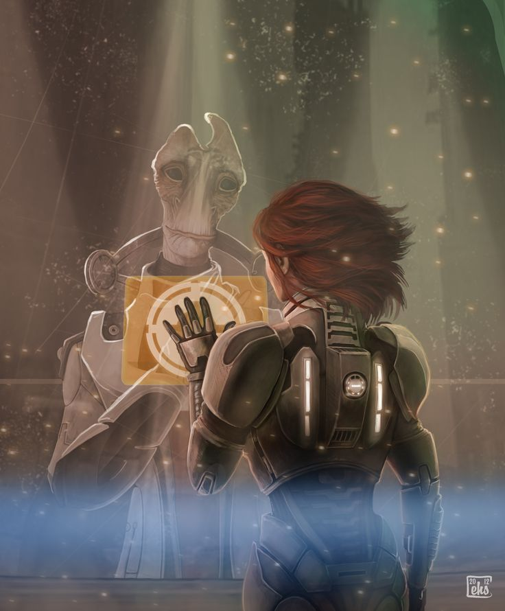 Someone Else Might Have Gotten It Wrong. by ~EllenSchebor on deviantART  Oh Mordin...rest in peace