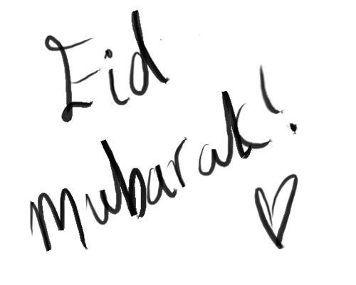 All Muslims all around the World, Eid Mubarak! ♥