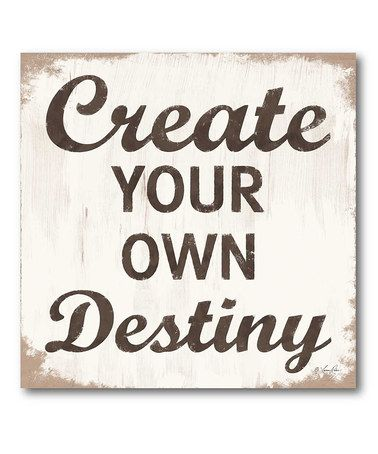 Yes. :: Create Your Own Destiny by COURTSIDE MARKET